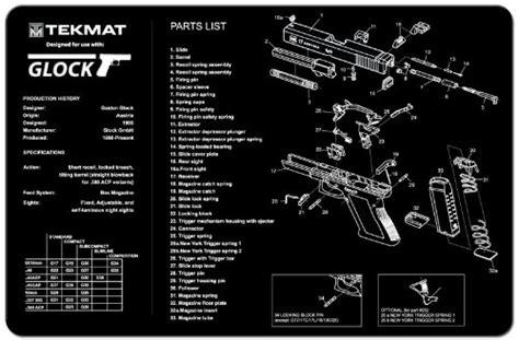 Glock Bench Mat by Buy Glock Gunsmiths Pistol Cleaning Bench Mat At Atlanta