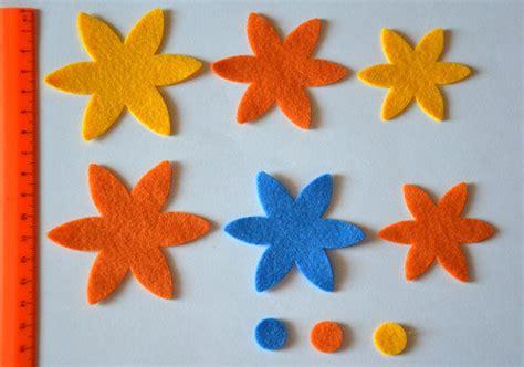 pannolenci fiori fiori pannolenci materiali stoffa e filati di