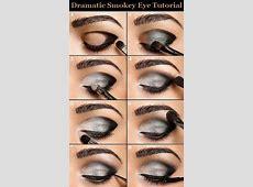 Dramatic smokey eye tutorial.   Clothes/Hair/Makeup ideas ... Mac Eye Makeup Looks Dramatic