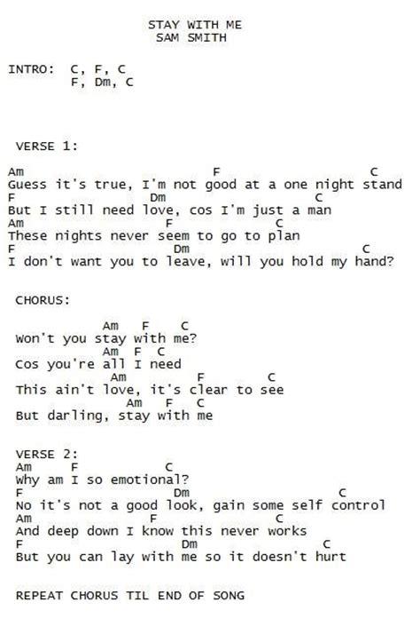 sam smith say it first chords best 25 sam smith lyrics ideas on pinterest sam smith