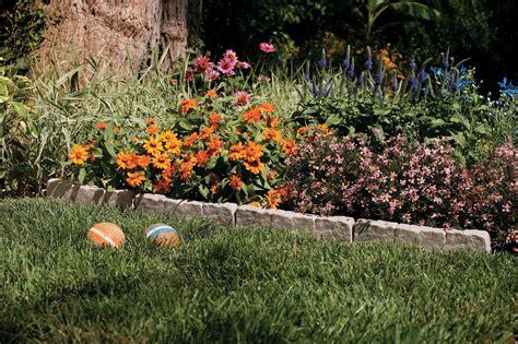 Decorative Border Edging by Emsco Bedrocks Decorative Lawn Border 10 Ft Lawn Garden Outdoor Tools Supplies