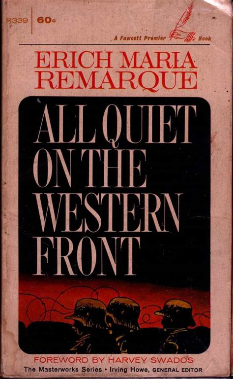 All On The Western Front Book Report by All On The Western Front