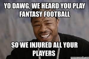 Fantasy Football Meme - fantasy football injury