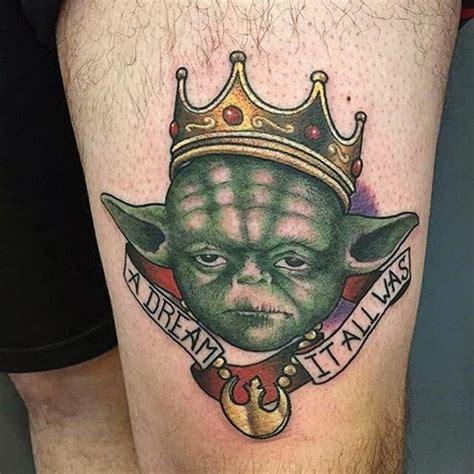 cartoon yoda tattoo 45 best star wars tattoo designs in 2017