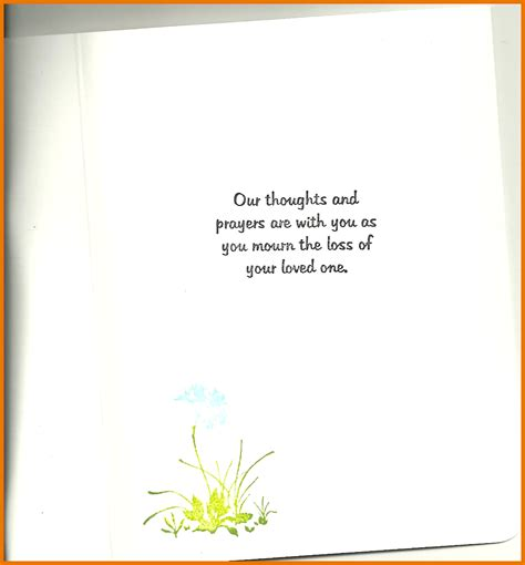 sympathy card template word 8 sympathy card words itinerary template sle