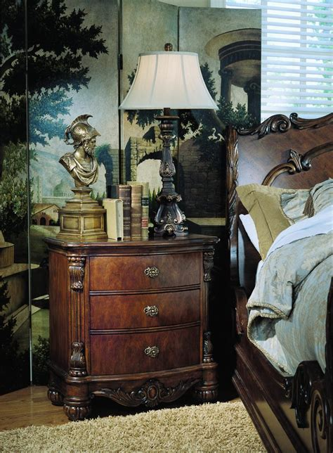 pulaski edwardian bedroom furniture buy pulaski edwardian nightstand confidently