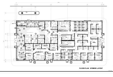 layout of the office office office design layout interior bank and office