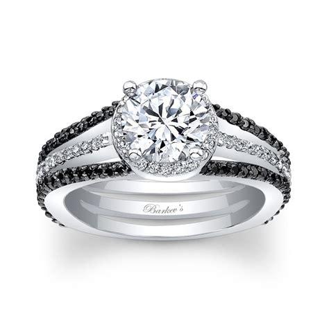 barkev s black engagement ring 7899lbk