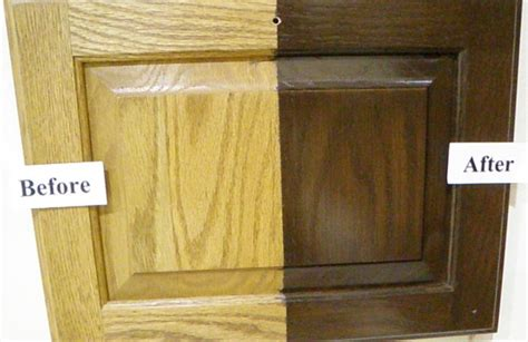 how to update wood cabinets 4 ideas how to update oak wood cabinets stains wood