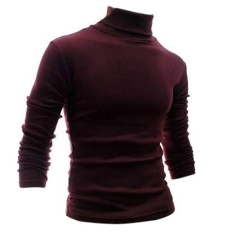 Sweater Hoodie Basic Warkop Dki tfgs s clothing basic turtleneck shirt slim sanded turtleneck sleeve t shirt in t