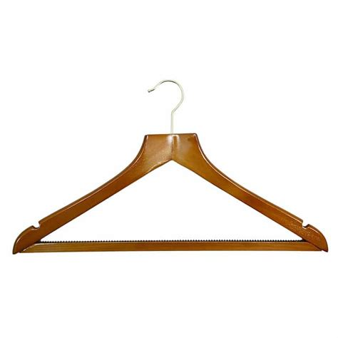 Hanger Jilbab Hanger Syall 1 h8 luxury cherry wood gilt hook hanger 50 163 1 35 each foremost products