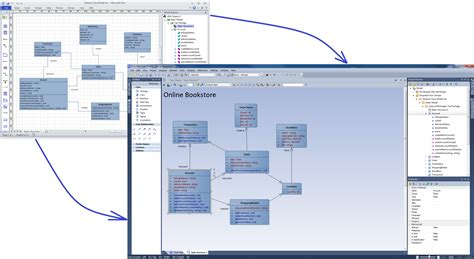 moving visio diagrams into enterprise architect