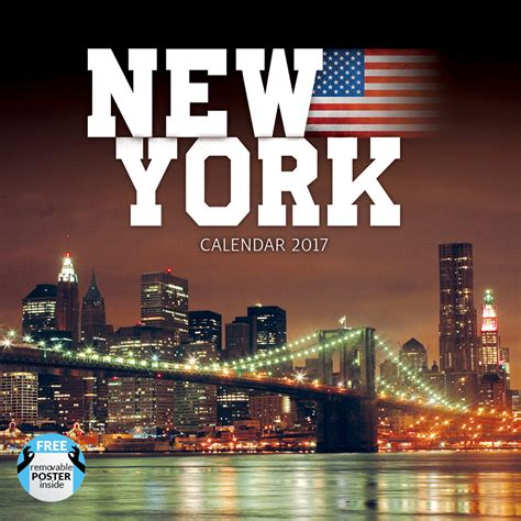Calendar 2018 New York New York Calendars 2018 On Europosters