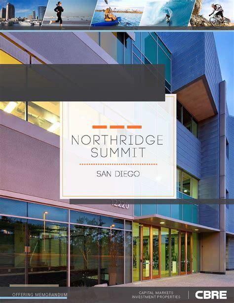 commercial real estate offering memorandum sle on