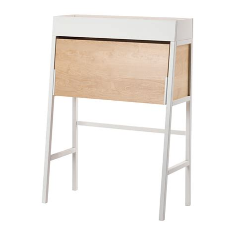 Meja Komputer Ikea ikea ps 2014 meja tulis putih veneer kayu birch ikea