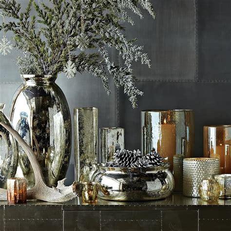Mercury Glass L West Elm mercury glass vases west elm