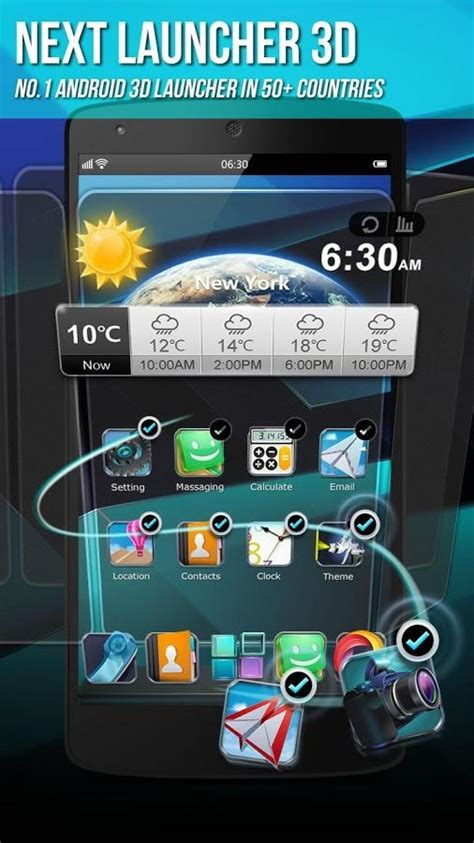 next launcher full version apk free next launcher 3d shell lite android apps on google play