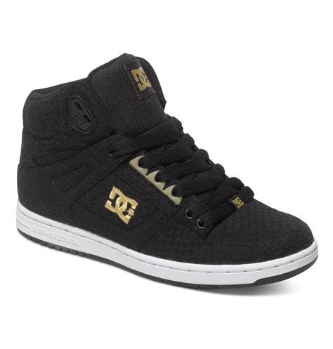 dc shoes s rebound tx se high top shoes adjs100065
