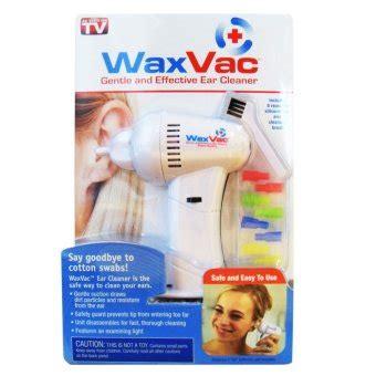 Harga Wax Vac wax vac vacum pembersih telinga putih lazada indonesia