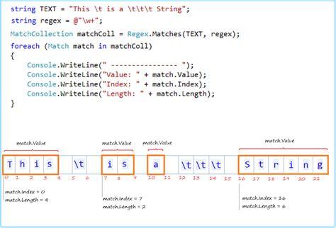 regex pattern match c c regular expressions tutorial