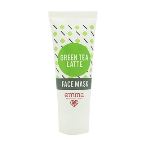 Masker Emina Green Tea jual skin care green tea latte mask sociolla