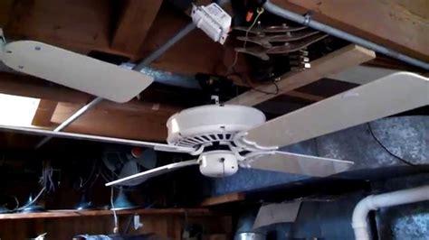 casablanca delta ii ceiling fan 4 blade gloss white