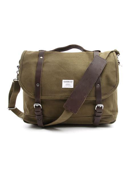 bags for sandqvist izzy khaki messenger bag in for