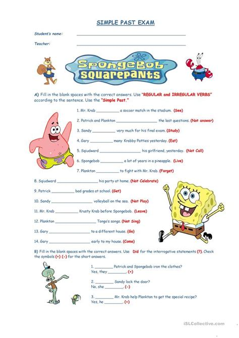 simple past quiz worksheet free esl printable worksheets