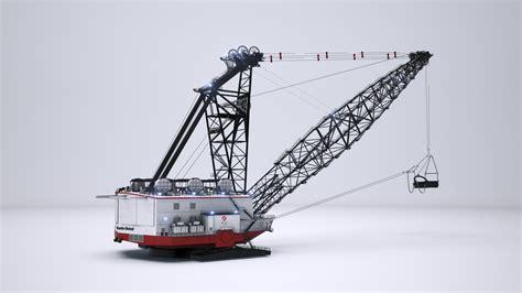 Dragline Operator dragline mining animation hybrid image brisbane