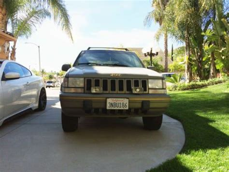 1995 jeep limited edition sell used 1995 jeep grand limited edition sport