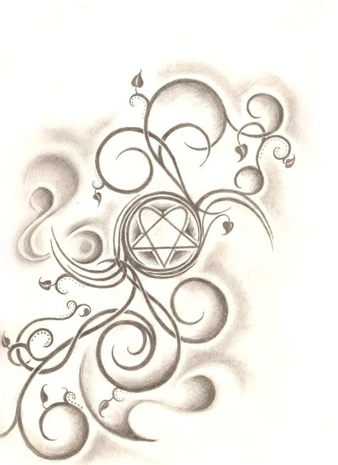 2 latest heartagram tattoo designs ideas