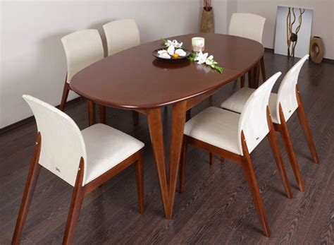 dining room tables oval havesome venice extending oval dining table