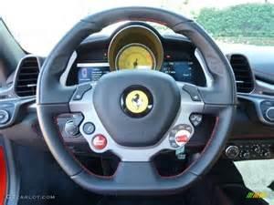 Steering Wheel 458 Italia 2011 458 Italia Beige Steering Wheel Photo