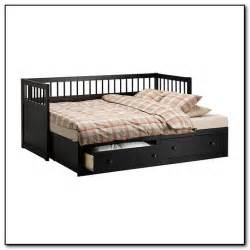 ikea trundle bed hemnes daybed design ideas black white brown bedroom