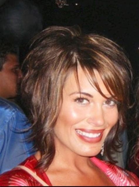 best hair highlights for older woman short brown hair w highlights hair pinterest short
