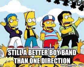 Boy Band Meme - one direction meme