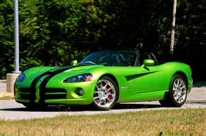 Dodge Viper Green Dodge Viper Srt 10 Green Black Wallpaper 1080 On