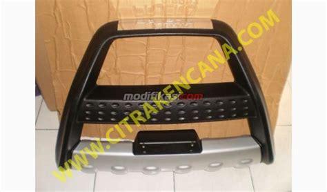 Paket Tanduk Depan Belakang All New Pajero Sport tanduk depan all new pajero 2016