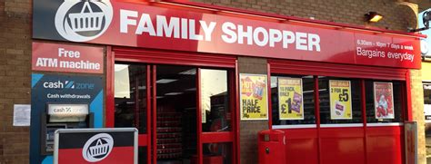 Kitchen Door Furniture Family Shopper Store Motherwell By Sas Shopfitters Limited