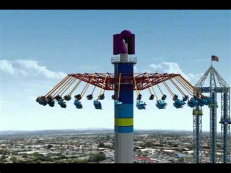 swings at knotts berry farm knott s berry farm virtual ride on windseeker youtube