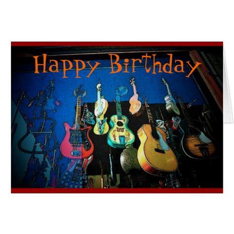 guitar birthday card template guitar birthday cards guitar birthday card templates
