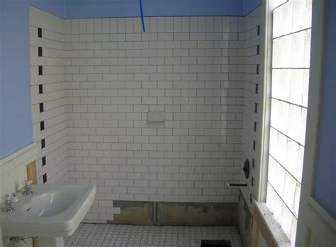 Jet Shower By Toko Bm bath renovation in an historic southern home