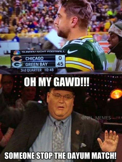 Funny Green Bay Packers Memes - 25 best ideas about chicago bears funny on pinterest