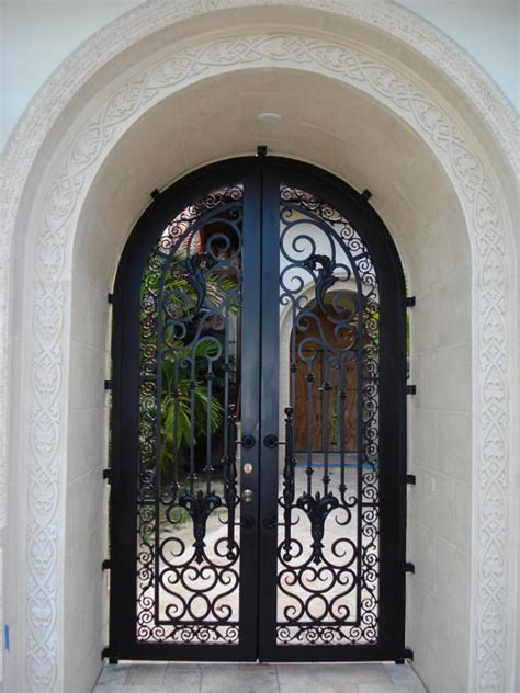 Iron Front Door Prices High Quality Luxury Metal Style Iron Front Door With Removal Glass Buy Exterior Metal