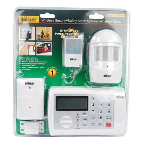 cellular home security wireless home security system