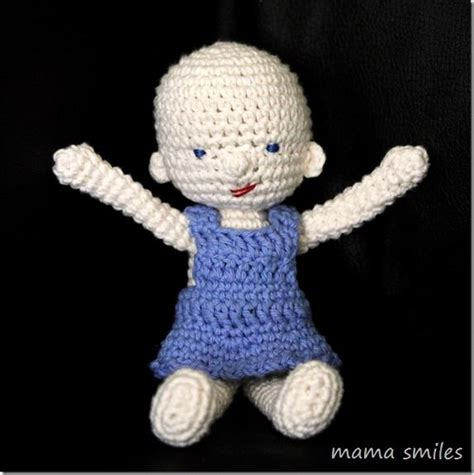 free crochet pattern cute dolls amigurumi and waldorf inspired baby doll crochet pattern