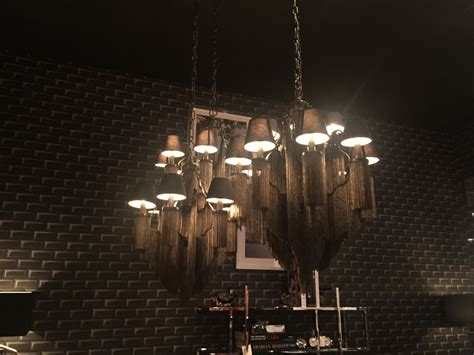 black chandelier lights add a bit of drama to your with a black chandelier