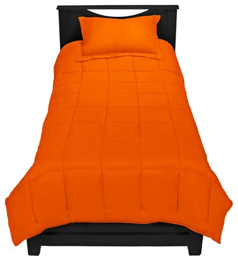 orange twin bedding orange twin xl comforter set by ivy union traditional
