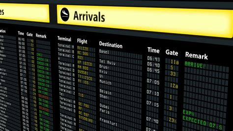 arrivals and departures board www imgkid the image