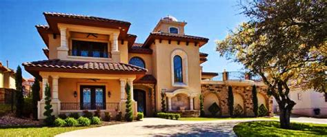 Spanish Style House Plans With Interior Courtyard by Spanish Style Home Mediterranean Exterior Austin